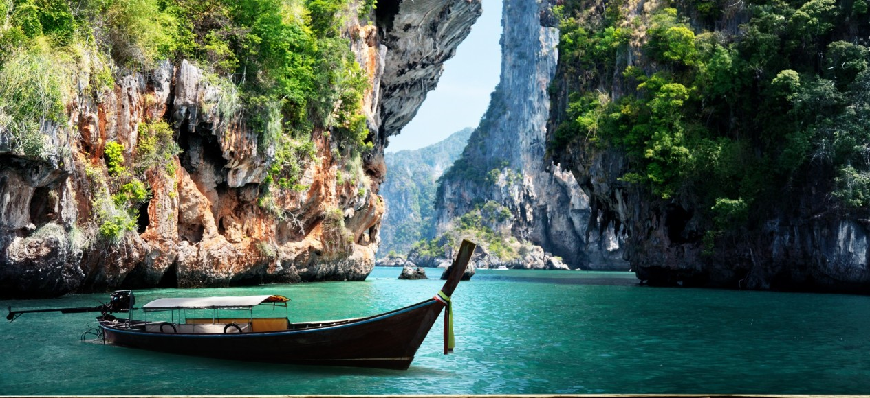 Andamanensee, Krabi, Thailand