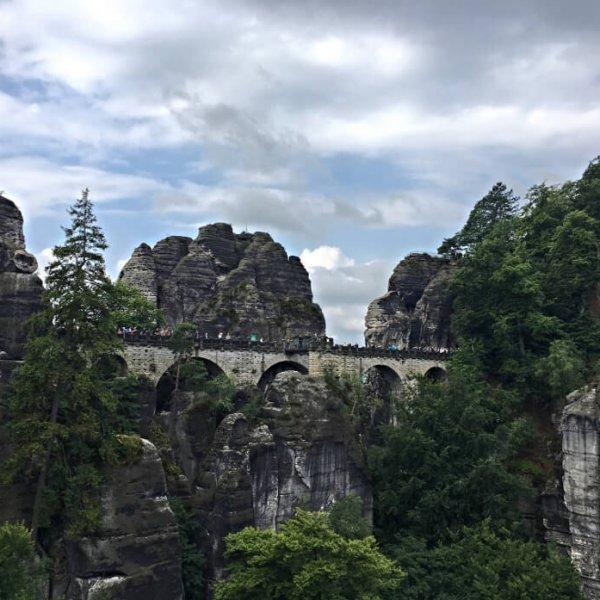 Blick auf die Basteibrücke | JN Touristik | Ihr Reisebüro in Strausberg