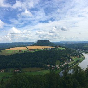 Blick von der Festung Königstein | JN Touristik | Ihr Reisebüro in Strausberg